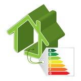 Grönt byggnadsbegrepp Arkivfoto