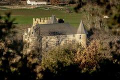 Grönt fält i Provence, Frankrike Royaltyfri Fotografi