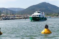 Grönt fartyg Royaltyfria Foton