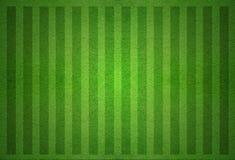 grönt fotbollfält från bästa sikt Royaltyfri Foto