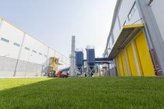 Grönt gräs för förlorad växt Arkivbilder