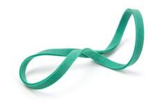 grönt gummi för band arkivfoton