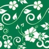 grönt hawaianskt seamless Royaltyfri Fotografi
