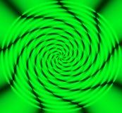 grönt hjul för energi Arkivfoto