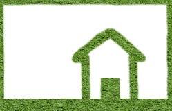 grönt hus royaltyfri bild