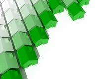 grönt hus