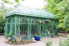 Grönt hus Denver Botanical Gardens Arkivbild