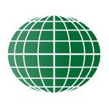 Grönt jordklot Royaltyfri Fotografi