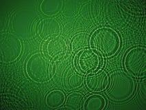grönt krusningsvatten Arkivbilder