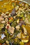 grönt kryddigt thai för curry fotografering för bildbyråer