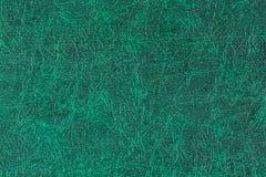 grönt läder Arkivbild