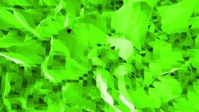 Grönt lågt poly vinka för bakgrund Abstrakt låg poly yttersida som landskap eller videospelet i stilfull låg poly design vektor illustrationer