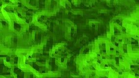 Grönt lågt poly vinka för bakgrund Abstrakt låg poly yttersida som overkligt landskap i stilfull låg poly design polygonal arkivfilmer