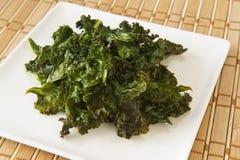 grönt lövrikt mellanmål för mat Royaltyfria Foton