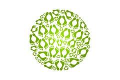 grönt lopp Royaltyfria Foton