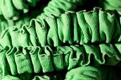 Grönt material som bakgrund Royaltyfri Foto