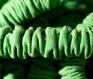 Grönt material som bakgrund Arkivfoto