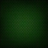 Grönt metallingreppsgaller Arkivfoto