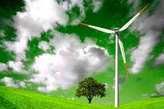 grönt naturligt för miljö Royaltyfri Fotografi
