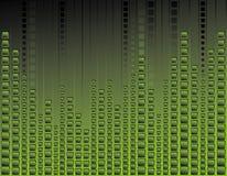 grönt neon för bakgrund Fotografering för Bildbyråer