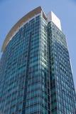 Grönt och blått Glass torn Royaltyfri Fotografi