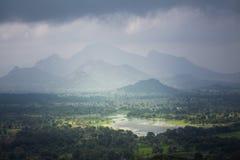 Grönt paradis i Sri Lanka fotografering för bildbyråer