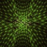 grönt perspetive Arkivfoto
