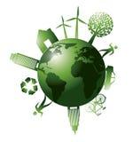 Grönt planet Fotografering för Bildbyråer