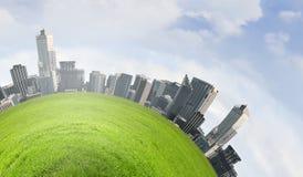 Grönt planet Arkivbild