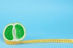 grönt räkneverk för grapefrukt royaltyfria bilder