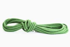 grönt rep Royaltyfri Fotografi