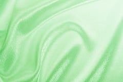 Grönt silke Arkivfoto