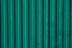 Grönt staket Arkivfoto