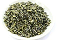 Grönt te Ceylon fotografering för bildbyråer