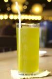 Grönt te för is Arkivfoto