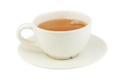 Grönt te i härlig kopp Arkivfoton