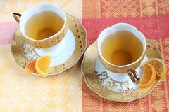 Grönt te och frukt Jelly Candy Fotografering för Bildbyråer
