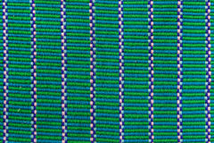 Grönt textiltyg Royaltyfri Fotografi