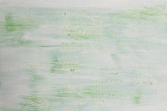 Grönt träbräde för vit som bakgrundstextur Arkivbild