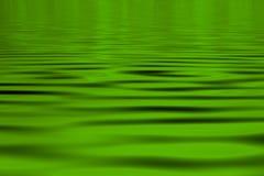 grönt vatten för bakgrund Arkivfoto