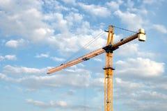 Grúa de construcción Fotografía de archivo