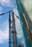 Grúa de construcción Foto de archivo