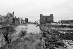 Grúa de Gdansk. Imagenes de archivo
