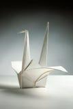 Grúa de Origami Fotos de archivo