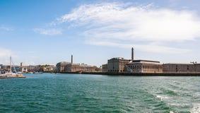 Grúa del puerto Foto de archivo libre de regalías