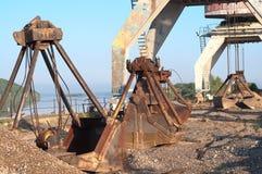 Grúa portuaria Fotografía de archivo