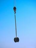 Grúa que maneja el tubo multi del miembro conjunto de 500m m Foto de archivo libre de regalías