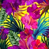 Grúa y flores Fotografía de archivo libre de regalías
