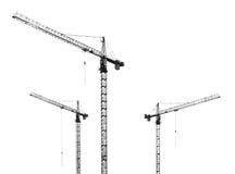 Grúas de construcción Fotos de archivo