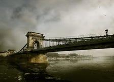 Grüße von Budapest stockfoto